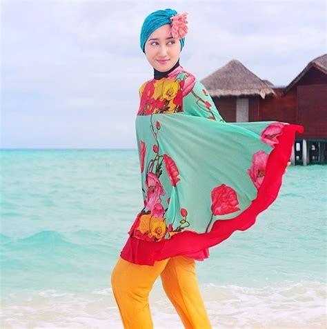 Baju Renang Dan Kacamata Renang Baju Renang Muslimah Cantik Dan Menarik