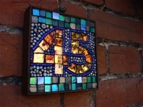 mosaic house number designs 17 best images about don t cry over broken plates make something beautiful on
