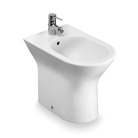 bidet roca roca nexo floorstanding bidet uk bathrooms