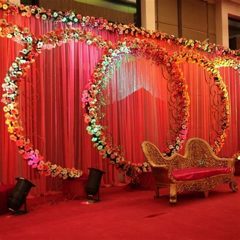 Indian Wedding, Birthday Planner, couple stage, Flower