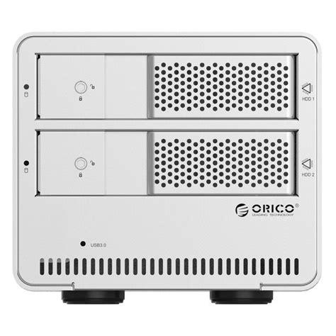 Orico 9528u3 2 Bay 3 5 orico 2 bay 3 5 sata hdd enclosure 9528u3 silver