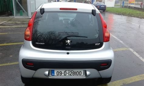 peugeot naas 2009 peugeot 107 for sale in naas kildare from peter061178