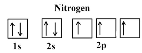 orbital diagram of nitrogen hund s chemistry libretexts