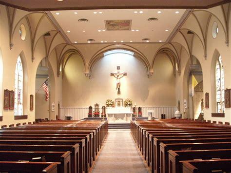filest marys catholic church interior alexandria va