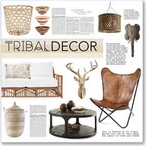 tribal home decor tribal decor polyvore