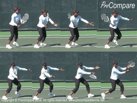 semi western forehand swing the volley and the open racket face talk tennis
