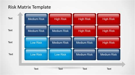 Risk Matrix Powerpoint Template Slidemodel Matrix Powerpoint Template