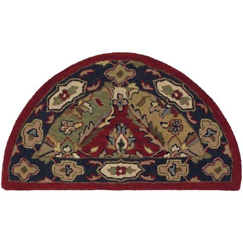 shape rug lr resources shapes multi half moon 2 ft 3 in x 3 ft 10 in traditional indoor area rug