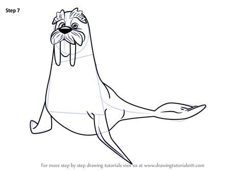 line art portrait tutorial step by step how to draw wally from paw patrol