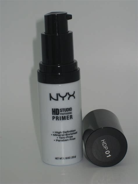 Nyx Hd Studio Primer Base nyx hd studio primer review swatches photos musings of