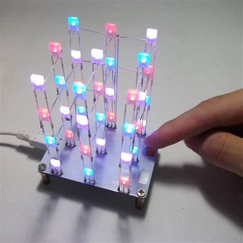 diy electronic led display kit  color pcs leds