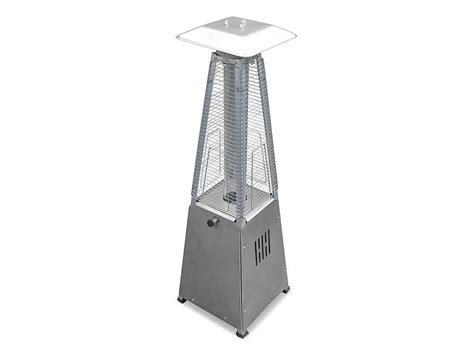 az patio heaters portable stainless steel glass patio