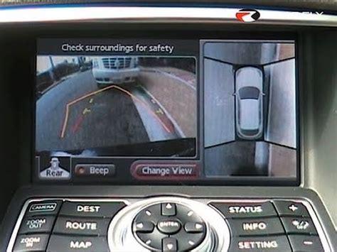 around view roadfly infiniti ex35 around view monitor system