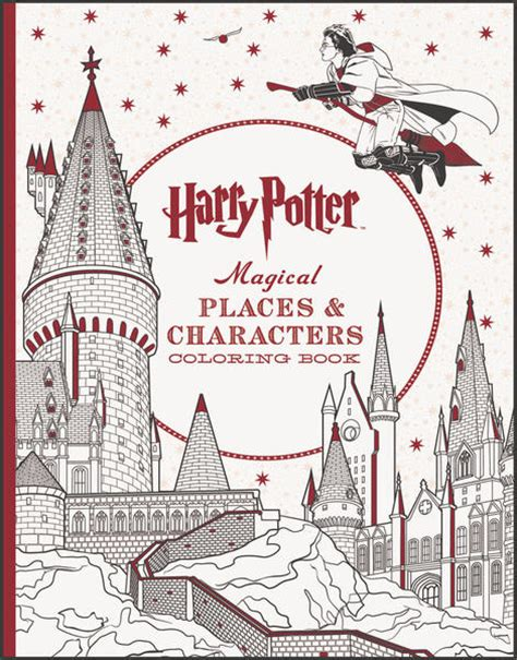 harry potter coloring book places and characters 21 march book releases we can t wait to get our on