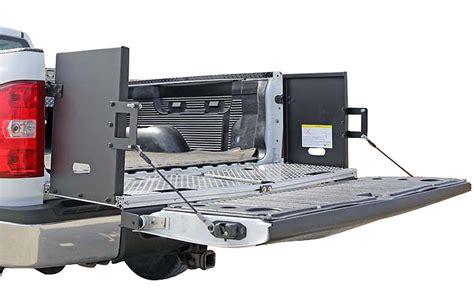 truck bed extenders dee zee bed extender truck tailgate extension