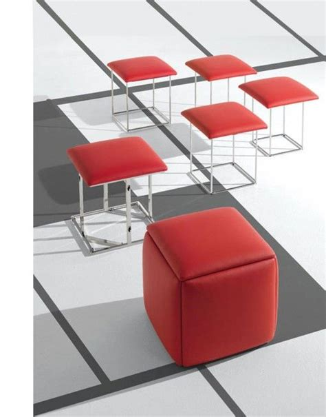 Ottoman That Turns Into 5 Stools by Cube 5 In 1 Ottoman Seat Space Saver Foldable Chairs