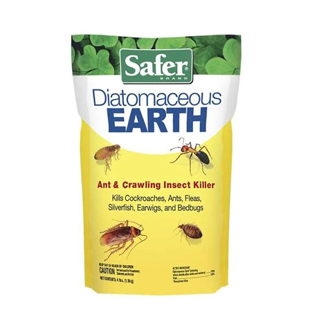diatomaceous earth for bed bugs safer brand 4 lb diatomaceous earth bed bug flea ant