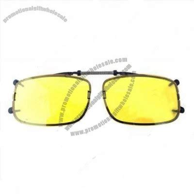 Driving Clip On Glasses vision clip on driving glasses factories in china
