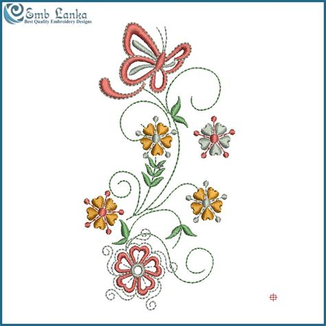 design flower and butterfly pink butterfly and flowers embroidery design emblanka com