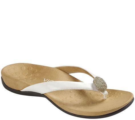 vionic felipa medium wide width orthotic sandals flip flops new