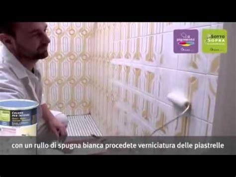 rinnovare piastrelle cucina oltre 25 fantastiche idee su dipingere i mobili bagno