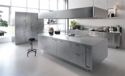 top 3 trends in 2014 kitchen design sleek sleek and sumptuous stainless steel kitchen by abimis