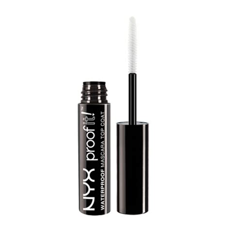 waterproof mascara top coat nyx professional makeup proof it waterproof mascara top