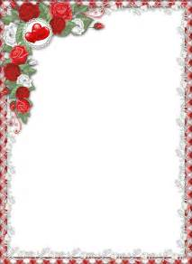 red love png transparent frame with roses gallery