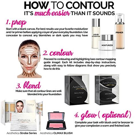 aesthetica contour kit review dupe for aesthetica cosmetics contour kit powder contour