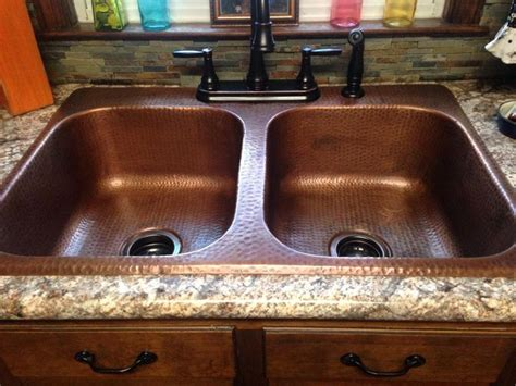 drop in copper bathroom sink best 25 copper sinks ideas on country kitchen