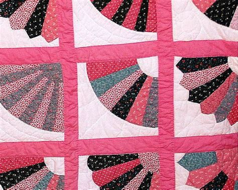 Fan Quilt Patterns beautiful fan quilt quilts sashiko and other projects