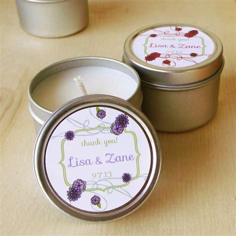 Candle Giveaways - elegant candle wedding favors 99 wedding ideas