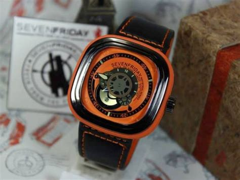 Harga Jam Tangan Merk Genuine Leather jual jam tangan sevenfriday p2 s2 jam seven friday