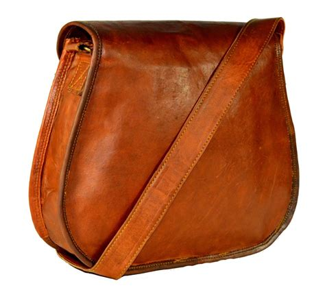 Handcrafted Leather Bag - handbags bags vintage handcrafted leather pouch