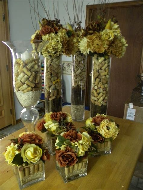 wine cork table decorations ornament table decorations giveaway