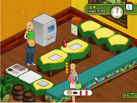 jeu de cuisine hamburger jouer 224 burger restaurant 2 jeux gratuits en ligne avec