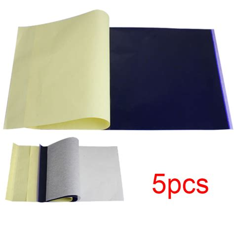 tattoo transfer paper bulk 5 sheets tattoo transfer carbon paper supply tracing copy