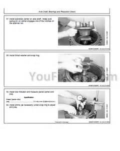 john deere 624h tc62h repair technical manual tool