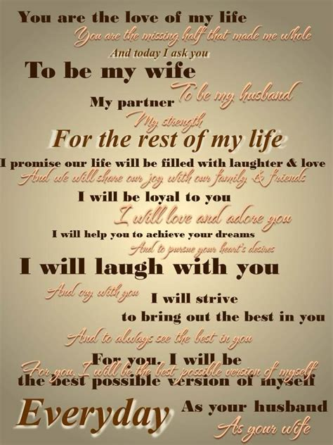 Wedding Vows To Him by Wedding Vows For Him