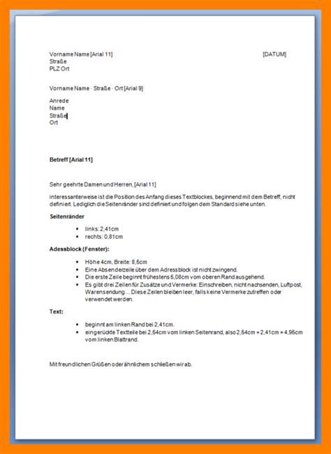 Formeller Brief Beispiel 9 briefkopf muster kozanozdra