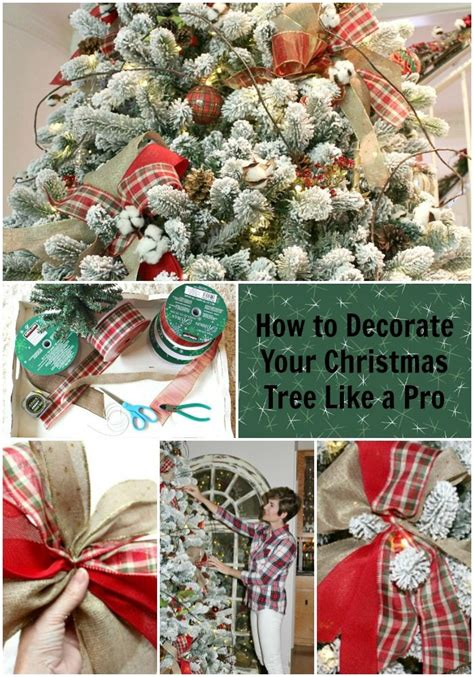 easy christmas tree decorating tips the design twins