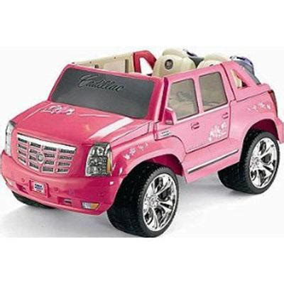 pink cadillac escalade power wheels pink cadillac escalade your 5mph speed power