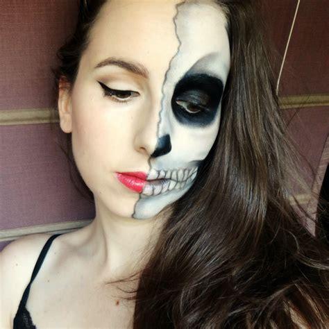 imagenes de uñas pintadas ala mitad maquillaje halloween paso a paso halloween pinterest