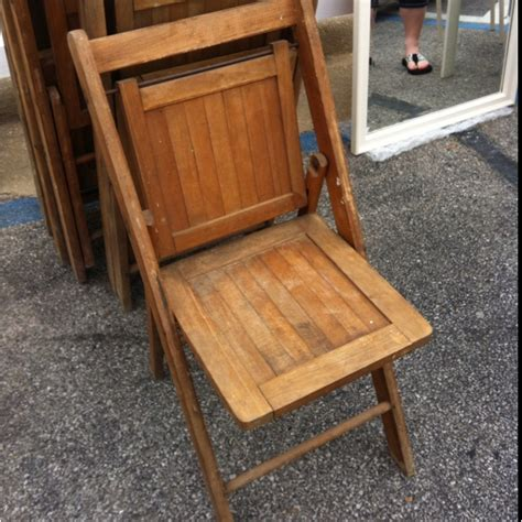 vintage wooden folding chairs ideas for actual house