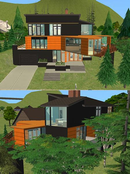 cullen haus grundriss mod the sims twilight cullen house