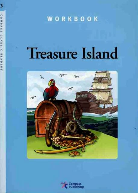 libro treasure island macmillan reader compass classic readers level 3 treasure island workbook レベル 3 by compass publishing on