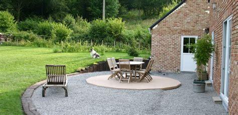 Faire Une Terrasse En Gravier 2125 by Comment Faire Une Terrasse En Gravier Info Web Les