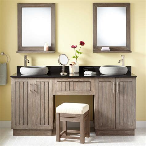 bathroom vanity with makeup stylish ways to decorate with modern bathroom vanities makeup vanities double