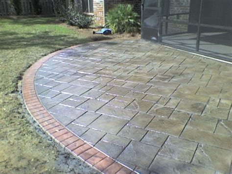 images stamped concrete patio: beaumont texas garage epoxy flooring decorative concrete coatings