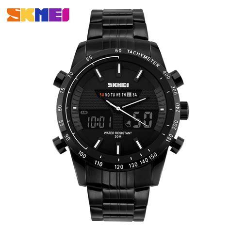 Jam Tangan Analog Digital Skmei Ad1131 Original skmei jam tangan analog digital pria ad1131 black